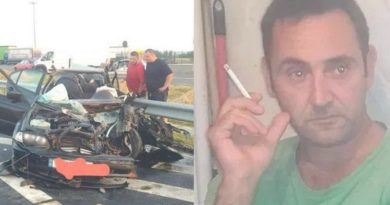 Lugoj Expres Șoferul care a omorât un copil și doi adulți pe autostrada A1, arestat preventiv pentru 30 de zile trei morți tragedie șofer beat șofer Românești patru infracțiuni copii în comă contrasens cercetat autostrada A1 arestat preventiv arest accident grav accident