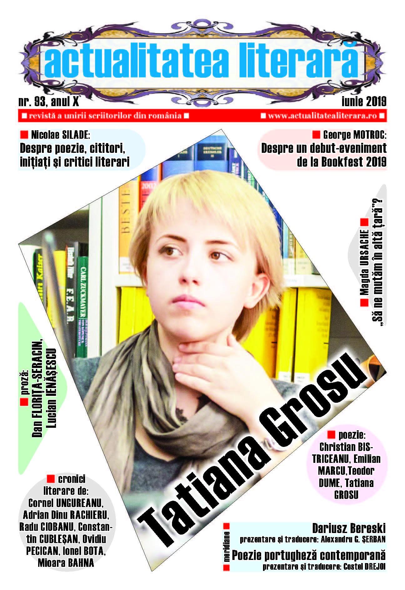 Lugoj Expres A apărut numărul 93 al revistei Actualitatea literară scriitori revistă proză poezie poeți librării cultură cronici literare actualitatea literară