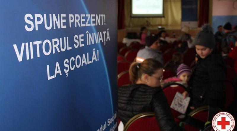 Lugoj Expres Spune prezent! Viitorul se învață la școală! Eveniment de promovare a incluziunii sociale și a egalității de șanse în educație viitorul școală promovare proiect Lugoj învață incluziune socială Crucea Roșie copii conferință