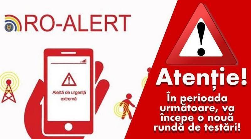 Lugoj Expres Se testează, din nou, sistemul RO-ALERT Timiș testare test telefon sistem RO Alert mesal Lugoj județul Timiș ISU atenționare alertă