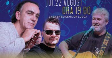 Lugoj Expres Muzică folk, la Casa Bredicenilor recital muzica Marius Bațu Lugoj folk Cristian Buică concert Casa Bredicenilor