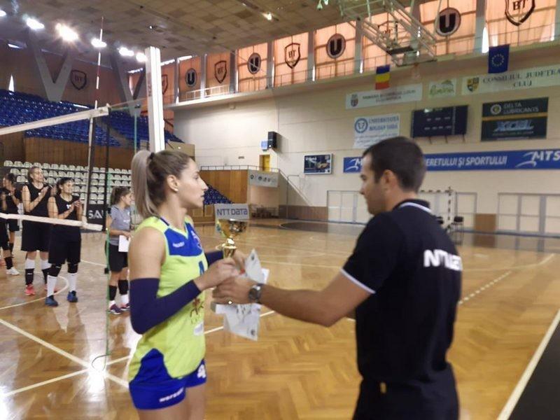 Lugoj Expres CSM Lugoj a câștigat Cupa Centenarului voleibaliste volei victorii turneu Lugoj Cupa Centenarului CSM Lugoj Cluj