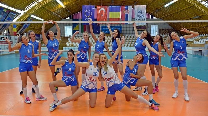 Lugoj Expres CSM Lugoj, victorie de trei puncte la Medgidia voleibaliste volei feminin volei victorie sezon Medgidia Lugoj Divizia A1 CSU NTT Data Cluj CSM Lugoj