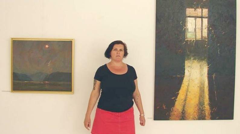 """Lugoj Expres """"Despre lumină"""", cu Flora Răducan, la Casa Artelor vernisaj plastician pictura Lugoj Galeria Pygmalion Flora Răducan expoziție Despre lumină Casa Artelor"""
