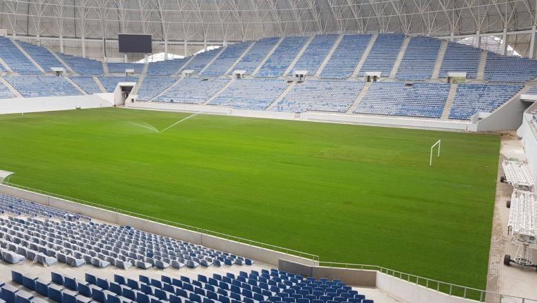 Lugoj Expres Stadion nou, de 30.000 de locuri. La 60 de kilometri de Lugoj... Timișoara stadion licitație investiție Consiliul Județean Timiș arenă