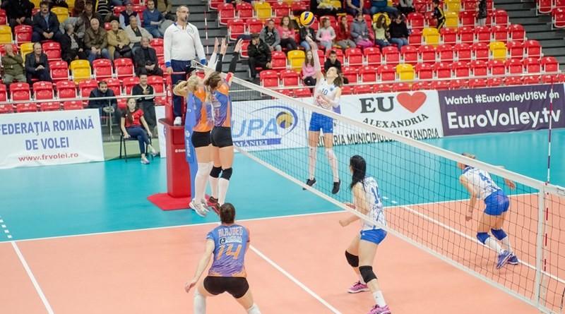 Lugoj Expres CSM Lugoj a pierdut cu Dinamo și a căzut pe locul 4 volei feminin volei Știința Bacău Lugoj înfrângere Divizia A1 Dinamo București CSM Lugoj