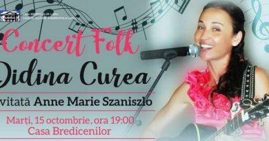 Lugoj Expres Concert folk, la Casa Bredicenilor folk Didina Curea concert Casa Bredicenilor