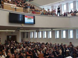 Lugoj Expres Reprezentanții Bisericilor Reformate din Euroregiunea DKMT s-au întâlnit la Lugoj Ungaria Serbia România reformați Lugoj întâlnire Euroregiunea DKMT euroregiune DKMT credincioși CJT bisericile reformate Biserica Harul baptist