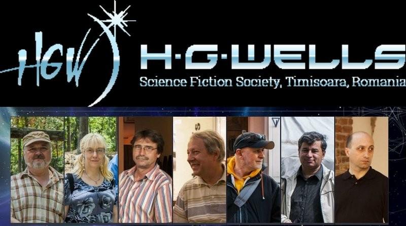 """Lugoj Expres Aniversarea semicentenarului cenaclului """"H.G. Wells"""" volume-antologie semicetenar science fiction literatur[ lansare HG Wells Cenaclul HG Wells cenaclu aniversare"""