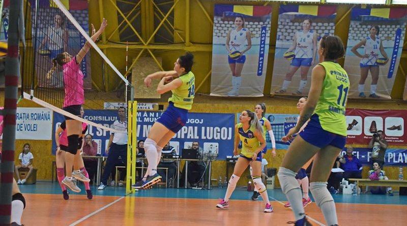 Lugoj Expres CSM Lugoj, eșec cu Dinamo, dar și-a asigurat prezența în play-off-ul Diviziei A1 volei feminin volei Știința Bacău play-off Lugoj eșec Divizia A1 Dinamo București CSM Lugoj