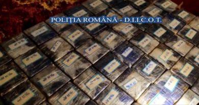 Lugoj Expres Heroină în valoare de un milion de euro, descoperită în urma unor percheziții la Lugoj, Coșteiu și București trafic percheziții Lugoj investigații inculpați heroină droguri DIICOT Coșteiu captură anchetă
