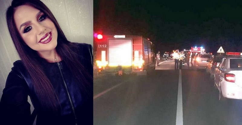Lugoj Expres Tragedie pe șosea! Tânără ucisă de mașina care s-a răsturnat peste ea tragedie tânără ucisă șosea mașină răsturnată Lugoj DN 68A Dealul Viilor accident grav