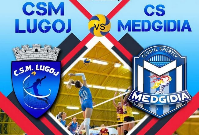 Lugoj Expres Invitație la volei: CSM Lugoj - CS Medgidia volei feminin volei partidă meci Lugoj Divizia A1 CSM Lugoj CS Medgidia