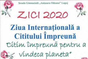 """Lugoj Expres Ziua Internațională a Cititului Împreună, la Școala Gimnazială """"Anișoara Odeanu"""" ziua internatională Școala Gimnazială"""