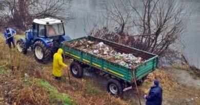 Lugoj Expres Angajații ABA Banat au strâns două tone de gunoaie, de pe malul Timișului, în zona Lugojului râul Timiș malul Timișului Lugoj igienizare gunoaie gestionarea deșeurilor deșeuri ABA Banat
