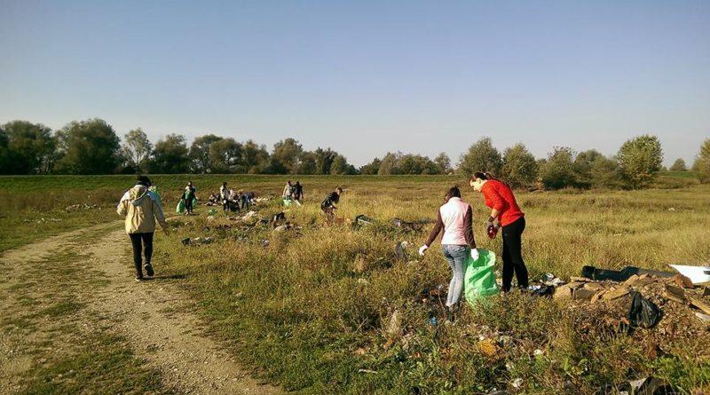 Lugoj Expres Voluntarii vor aduna gunoaiele din Lugoj voluntari râul Timiș maluri Lugoj ecologizare curățenie campanie acțiune