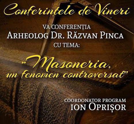 Lugoj Expres Despre masonerie, la Conferințele de vineri Răzvan Pinca Muzeul de Istorie și Etnografie Lugoj Masoneria la Lugoj Conferințele de vineri