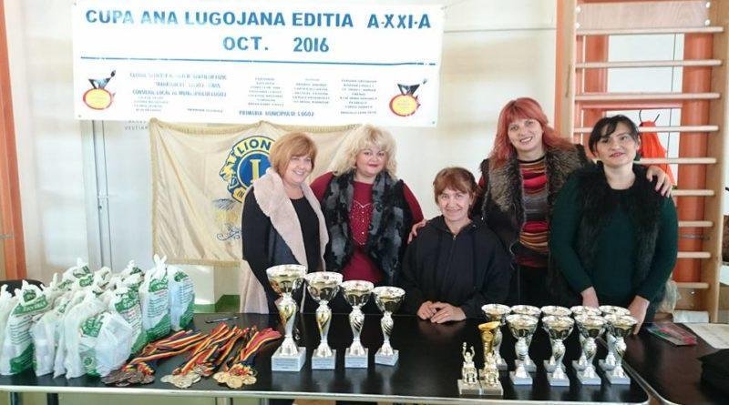 "Lugoj Expres CSHF Maraton'93 Lugoj a cucerit Cupa ""Ana Lugojana"" - ediția XXI-a handisport Cupa Ana Lugojana Clubul Lion Ana Lugojana Lugoj"