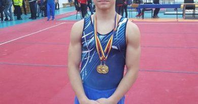 Lugoj Expres Rafael Szabo, pe podium la Campionatele Naționale de gimnastică Rafael Szabo medalie gimnastică CSȘ Lugoj campionatele naționale