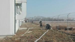 Lugoj Expres Exercițiu ISU: Incendiu la o hală de producție din Lugoj pompieri Lugoj ISU Timiș incendiu hală de producție exercițiu Detașamentul de Pompieri Lugoj