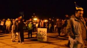 Lugoj Expres Lugojenii, la unison cu întreaga țară: o nouă seară de proteste în stradă! PSD ciuma roșie protest la Lugoj Lugojul în stradă lugojenii protestează hoții DNA a doua seară de proteste la Lugoj