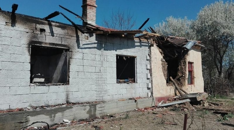Lugoj Expres Incendiu devastator! O familie din Ghizela a rămas fără acoperiș deasupra capului pompierii lugojeni o familie a rămas fără acoperiș ISU Timiș incendiu Ghizela
