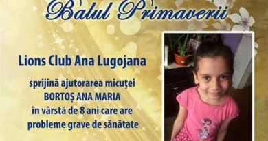 """Lugoj Expres Bal caritabil: Clubul Lions """"Ana Lugojana"""" ajută o fetiță de 8 ani, grav bolnavă Lions Cu Asar colectarea de fonduri Clubul Lions """"Ana Lugojana"""" bal caritabil ajutorarea unei fetițe acțiune caritabilă"""