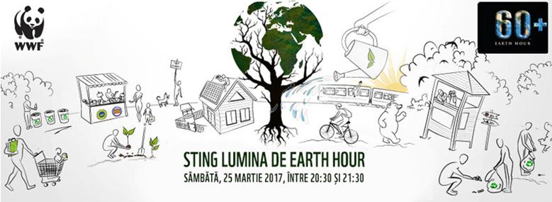 Lugoj Expres Ora Pământului stinge lumina, la Lugoj ora pământului Lugojul stinge lumina earth hour