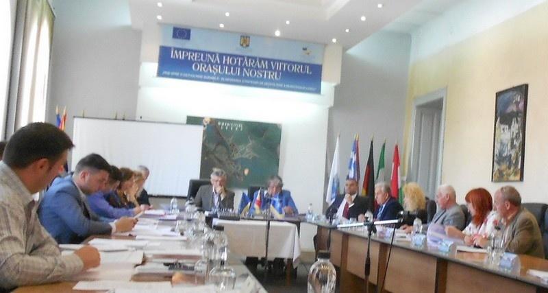 Lugoj Expres O nouă ședință extraordinară a Consiliului Local Lugoj servicii proiect Meridian 22 licitație hotărâre Consiliul Local alimentare cu apă