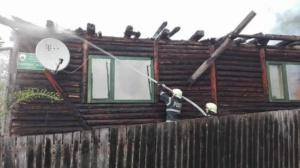 Lugoj Expres Canton mistuit de flăcări, la Nădrag pompierii lugojeni ocolul silvic ISU Timiș incendiu canton ana lugojana