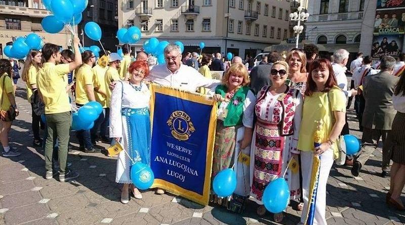 """Lugoj Expres Clubul Lions """"Ana Lugojana"""", la Convenția Națională Lions Lions Districtul Lions 124 convenția națională Clubul Lion Ana Lugojana Lugoj"""