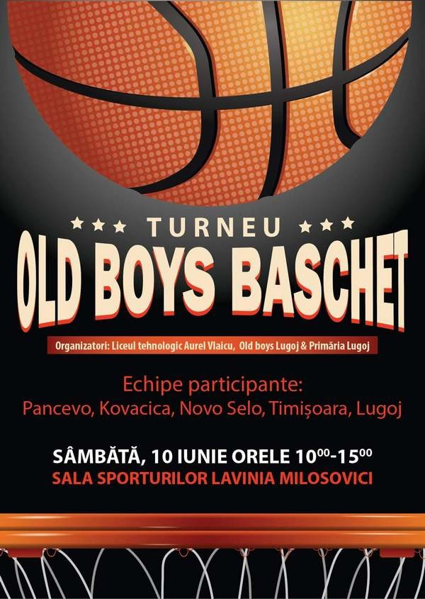 Lugoj Expres Turneu internațional de baschet, la Lugoj turneu internațional Pančevo Old Boys Lugoj old boys Novo Selo Lugoj Kovačica baschet