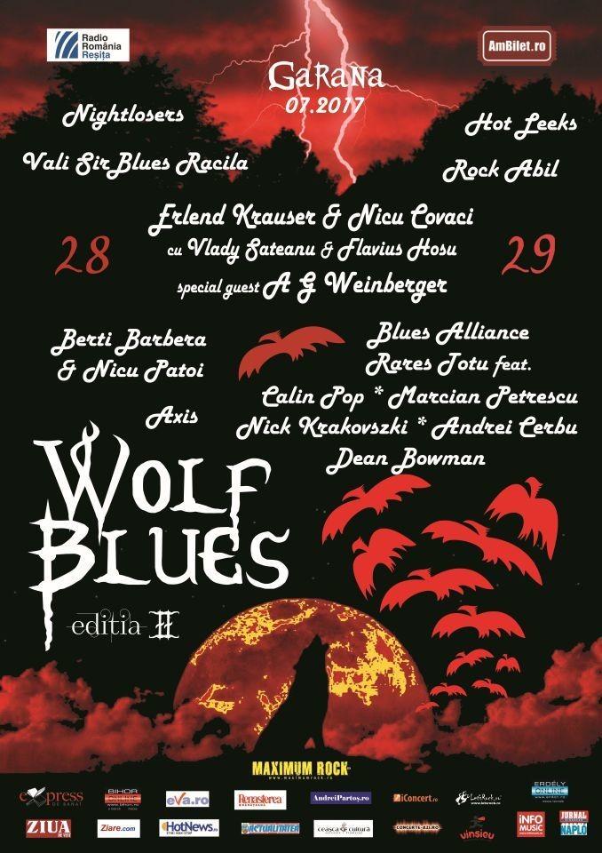 """Lugoj Expres Ediția a II-a a Festivalului """"WolfBlues"""", în 28-29 iulie, la Gărâna, în Poiana Lupului WolfBlues rock Poiana Lupului Gărâna festival concerte blues"""
