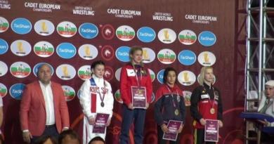 Lugoj Expres Performanță excepțională: Roxana Țif - campioană europeană la lupte Roxana Țif performanță medalie de aur lupte Campionatele Europene campioană europeană campioană