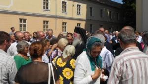 Lugoj Expres Mitropolitul Ioan al Banatului, în mijlocul credincioșilor din Lugoj (FOTO) ruga lugojeană rugă Mitropolitul Banatului ÎPSS Ioan hram Corporația Meseriașilor Biserica Adormirea Maicii Domnului Lugoj