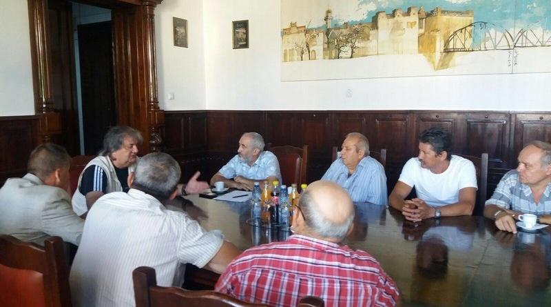 Lugoj Expres Revoluționarii s-au întâlnit cu primarul Lugojului