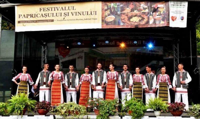 Lugoj Expres Festivalul Papricașului și Vinului, în acest weekend, la Buziaș. Vezi programul sectacol folcloric festivalul papricașului și vinului festival Buziaș