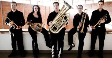 """Lugoj Expres Cvintetul """"Cantores Ecclesiae"""" din Budapesta, în concert la Lugoj muzică clasică cvintet concert Cantores Ecclesiae alămuri"""