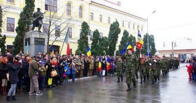 Lugoj Expres Adunare populară solemnă, de Ziua Națională Ziua Națională serviciu religios militari Lugoj defilare ceremonial adunare populară