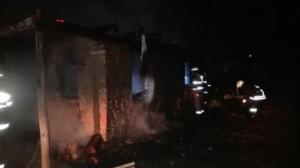 Lugoj Expres Casă mistuită de flăcări la Surducu Mic. O femeie a murit carbonizată victimă Surducu Mic pompierii lugojeni ISU Timiș incendiu femeie carbonizată casă mistuită de flăcări