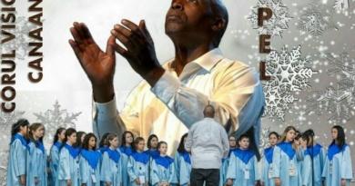 Lugoj Expres Crăciun de poveste. Concert extraordinar de muzică gospel Visions of Dreams muzica gospel Dean Bowman Crăciun de poveste concert