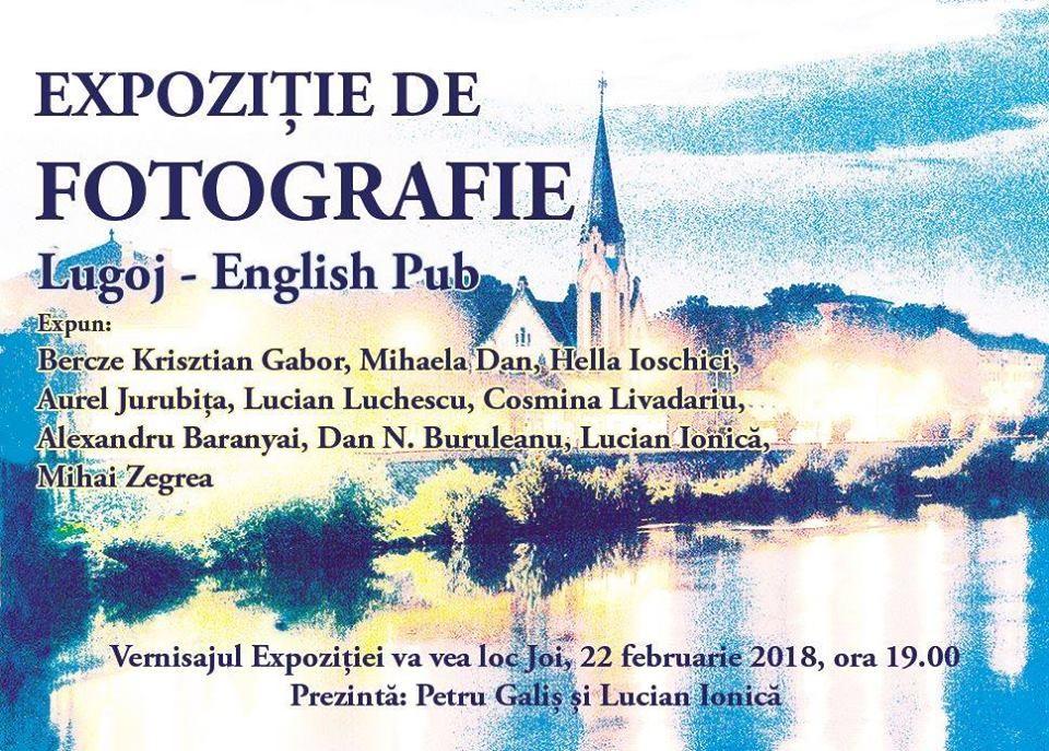 Lugoj Expres Fotografii în expoziție, la English Pub vernisaj fotografii expoziție English Pub