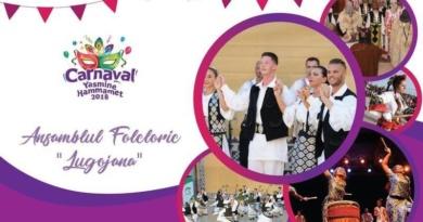 """Lugoj Expres Ansamblul """"Lugojana"""" prezintă tradițiile și obiceiurile românești, la Carnavalul din Tunisia Tunisia tradiții obiceiuri Lugojana festival internațional carnaval ansamblu"""