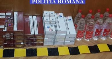 Lugoj Expres Percheziții la Dumbrava și Mănăștiur. Trei persoane au fost duse la audieri țigări percheziții Mănăștiur Dumbrava descinderi contrabandă audieri alcool