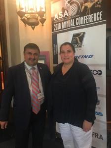 Lugoj Expres Daniel Olariu si Michele Dickstein presedinte ASA 1a