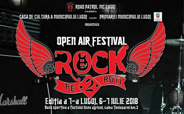 Lugoj Expres În 6-7 iulie, la Lugoj: Rock pe 2 Roți - ediția a VII-a Rock pe 2 Roți rock Road Patrol MC Lugoj premii paradă moto motocicliști moto Mist Lupu cel Rău Iris festival concursuri concerte Bucovina Altar