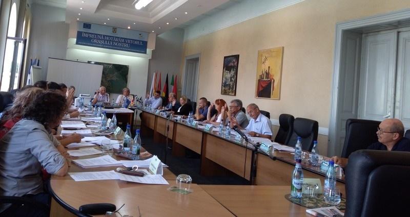 Lugoj Expres Consiliul Local Lugoj, în ședință terenuri ședință Salprest proiecte Meridian 22 Lugoj intabulare hotărâri dezmembrare Consiliul Local