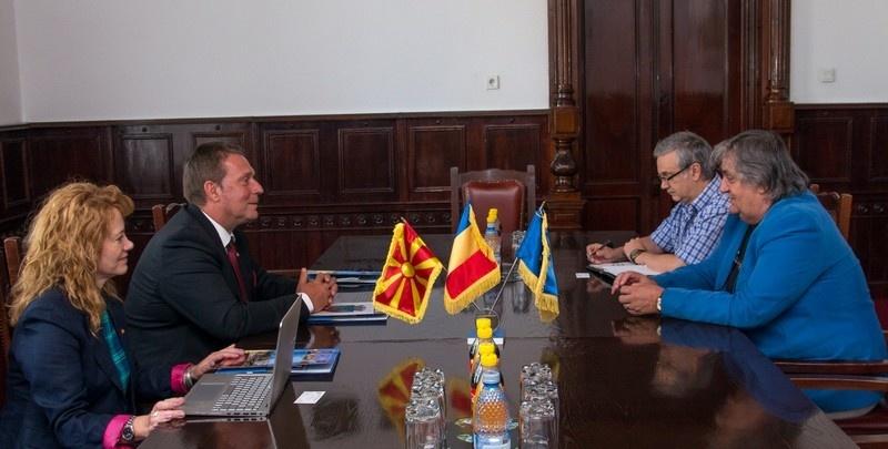 Lugoj Expres Consulul Macedoniei, în vizită la Primăria Lugoj vizită sărbătoare ruga lugojeană primăria lugoj Pavel Ernest Dupta parteneriat Macedonia Kriva Palanka întrevedere consulul onorific al Macedoniei consul