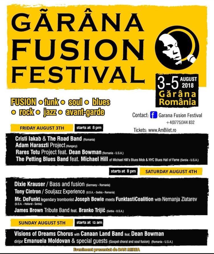 Lugoj Expres Gărâna Fusion Festival, la început de august, în Poiana Lupului Visions of Dreams Poiana Lupului gospel Gărâna Fusion Festival Gărâna festival eveniment