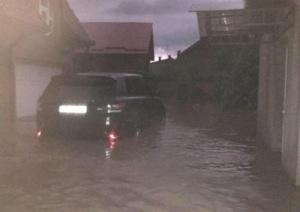 Lugoj Expres Zona Făgetului, sub ape! Peste 100 de gospodării au fost inundate Timiș pompieri ploi abundente ploaie torențială ISU Timiș inundații Făget inundații gospodării inundate gospodării Făgetul sub ape Făget